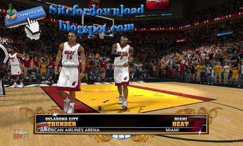 Gambar Games Basket NBA 2013